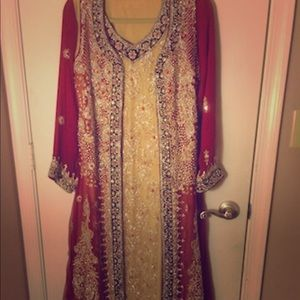 Indian/Pakistani Desi Bridal wedding dress